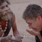 食人族与主持人吃人脑