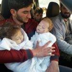 叙利亚西遭化学攻击25个亲戚全死亡