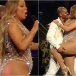 Mariah Carey 玛丽亚·凯莉体重爆增120公斤!